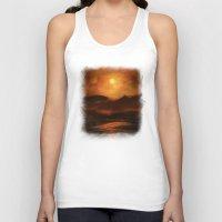 sunset Tank Tops featuring Sunset by Viviana Gonzalez