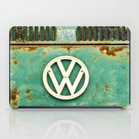 vw iPad Cases featuring VW Retro by Alice Gosling