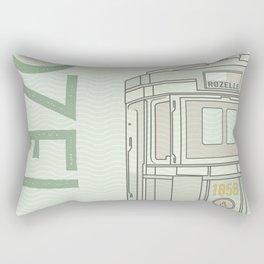 Trams of the world - Sydney Rectangular Pillow