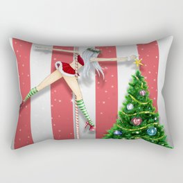 December 2017 Rectangular Pillow