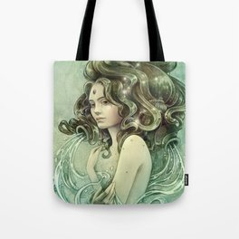 Zodiac Aquarius Tote Bag