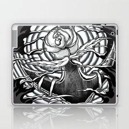 Rose and anchor Laptop & iPad Skin
