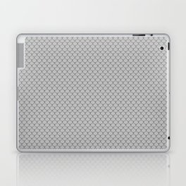 Silver Gray Scales Pattern Laptop & iPad Skin