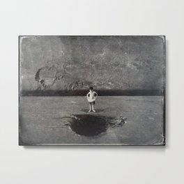 House Disaster Art - Swimmin' Hole? Metal Print