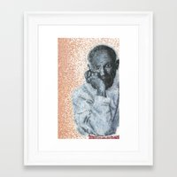 picasso Framed Art Prints featuring Picasso by Kcliving