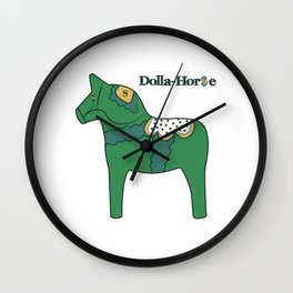 Dolla-Horse Wall Clock