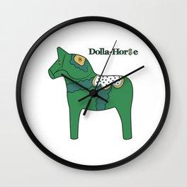 Dolla-Horse Wall Clock