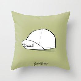 Grimpeur - Bartali cap Throw Pillow