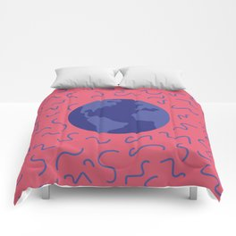 Pink world Comforters