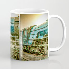 Tornado in blue bywhacky Coffee Mug