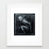 jack frost Framed Art Prints featuring Jack Frost by Kadvit