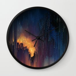 glitch Wall Clock