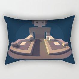 DJ Voxel - discjockey logo Rectangular Pillow