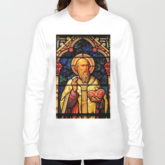 Saintly Glass #2 Long Sleeve T-shirt