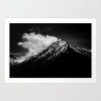 Black Mountains Three Art Print