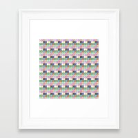 stained glass Framed Art Prints featuring Stained Glass by Ana Guillén Fernández
