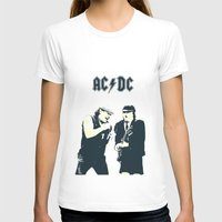 dc T-shirts featuring AC/DC by Nechifor Ionut