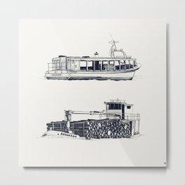 On paper: Hilberis y Requerdo Metal Print