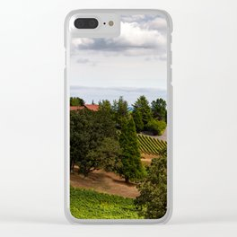 The Vineyard Clear iPhone Case
