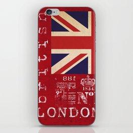 Union Jack Great Britain Flag iPhone Skin