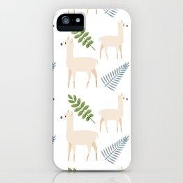 Lamas iPhone Case