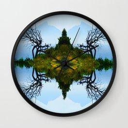 Bay Tree Wall Clock
