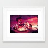 steven universe Framed Art Prints featuring Steven Universe by Attyca