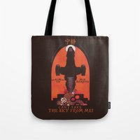 propaganda Tote Bags featuring Browncoat Propaganda by Hillary White