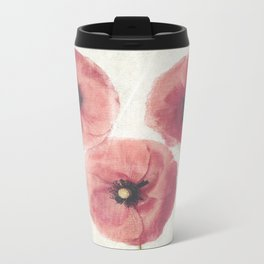 Vintage Poppies  Travel Mug