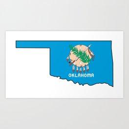 Oklahoma Love Art Print