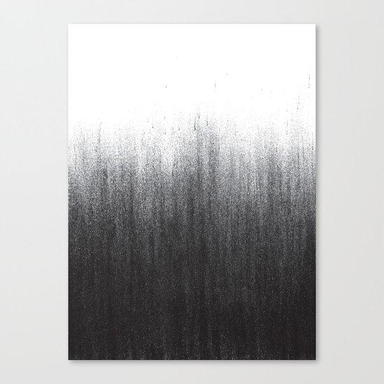 Charcoal Ombré Canvas Print