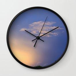 Autumn Flight, Abstract Wall Clock