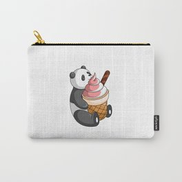 Hey Bear Panda Mix Flavor Ice Cream Carry-All Pouch