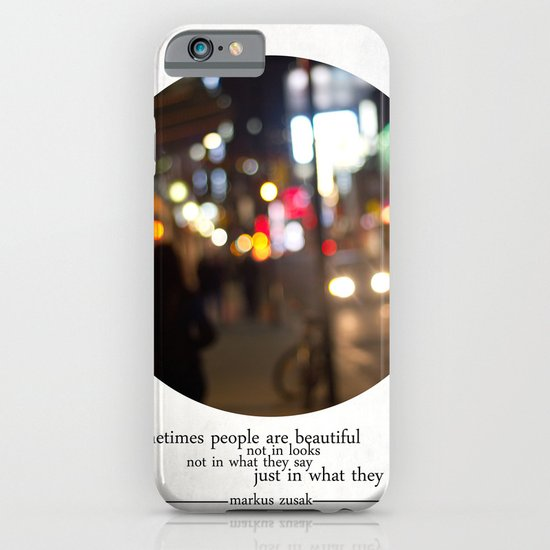 people are beautiful iPhone & iPod Case