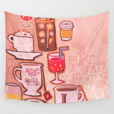 Drinks Wall Tapestry
