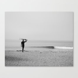 Surf Photography Print, Malibu California, Surf Art, Surf Decor, Black and White Print, Wall Art Canvas Print