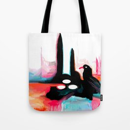 Crows nest Tote Bag