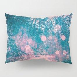 Pink Magical Path Pillow Sham
