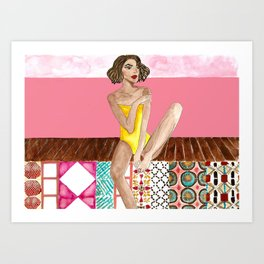 Brasil, meu Brasil Brasileiro Art Print
