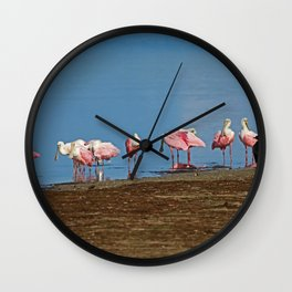 Reluctant Chaperone Wall Clock