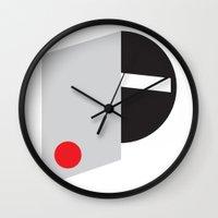 mod Wall Clocks featuring Mod by Alexander Studios