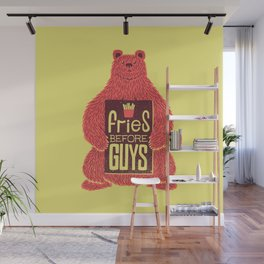 Fries Before Guys Wall Mural