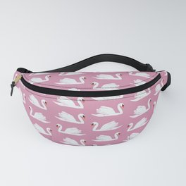 Pink Swan Fanny Pack