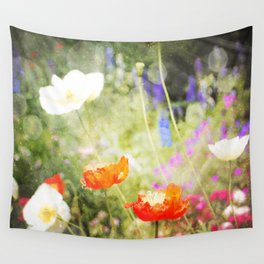 Magic Poppies Wall Tapestry