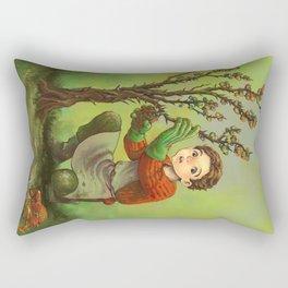 Neville Longbottom - Resting time Rectangular Pillow