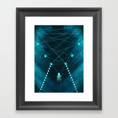 Mystic Space Framed Art Print