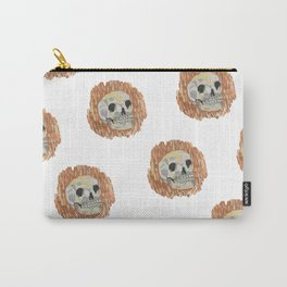 I Want To Live- Skull Painting Carry-All Pouch