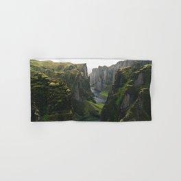Iceland Green Nature Hand & Bath Towel