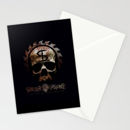Sinister Visions Promo 2015 Stationery Cards