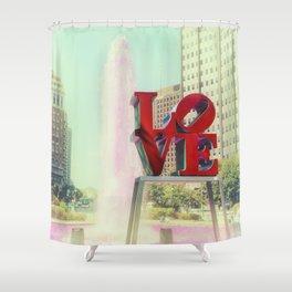 Philadelphia Love Shower Curtain